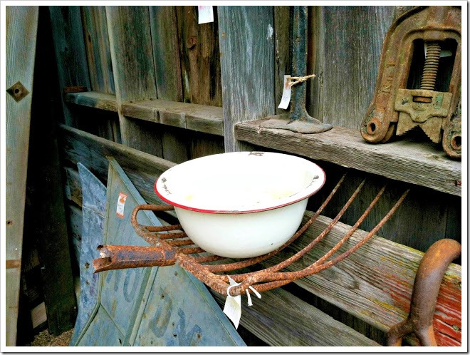 Barn Sale fork
