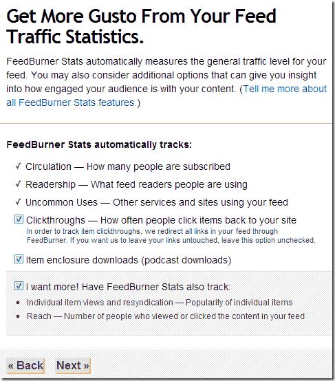 Personalizando el feed