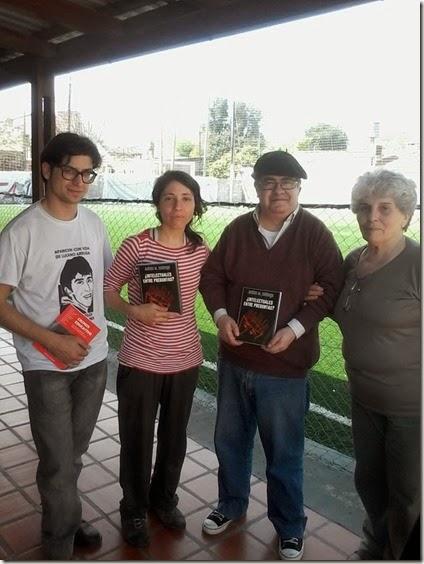 Con Vanesa Orieta y Ana Braghieri