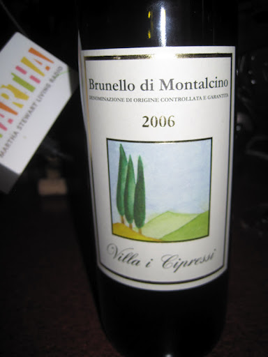2006 Brunello di Montalcino - is a true crowd pleaser.