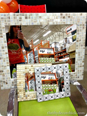 tiling around a mirror