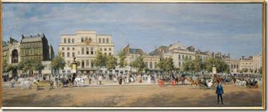 Potmont - Les Thatres du Boulevard du Temple (1862)