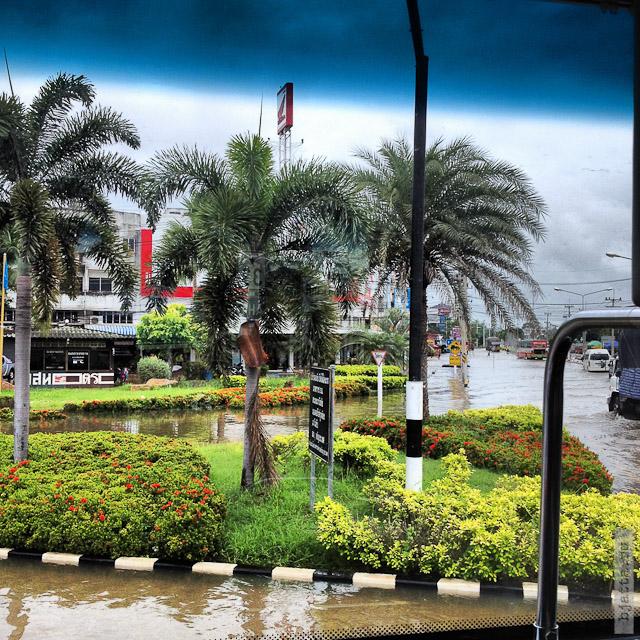 10. Сезон дождей. Таиланд 2555. Thailand
