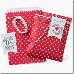 Valentines treat bags