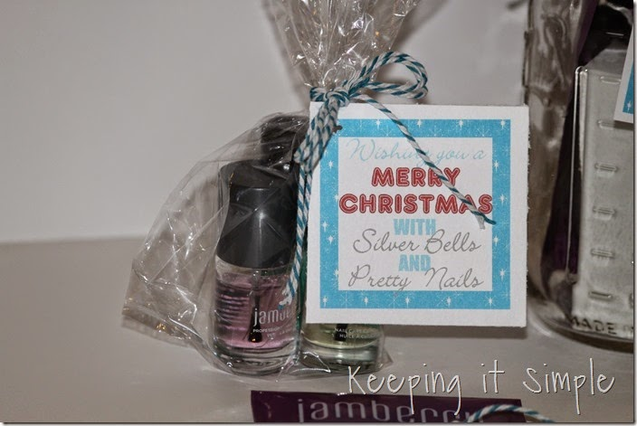 Jamberry nails gift with printable tags (4)