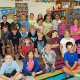 WBFJ Cici's Pizza Pledge - Forbush Elementary-Mrs. Norman's 4th Grade Class-Yadkinville-10-16-13
