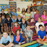 WBFJ Cici's Pizza Pledge - Forbush Elementary-Mrs. Norman's 4th Grade Class-Yadkinville-10-16-13