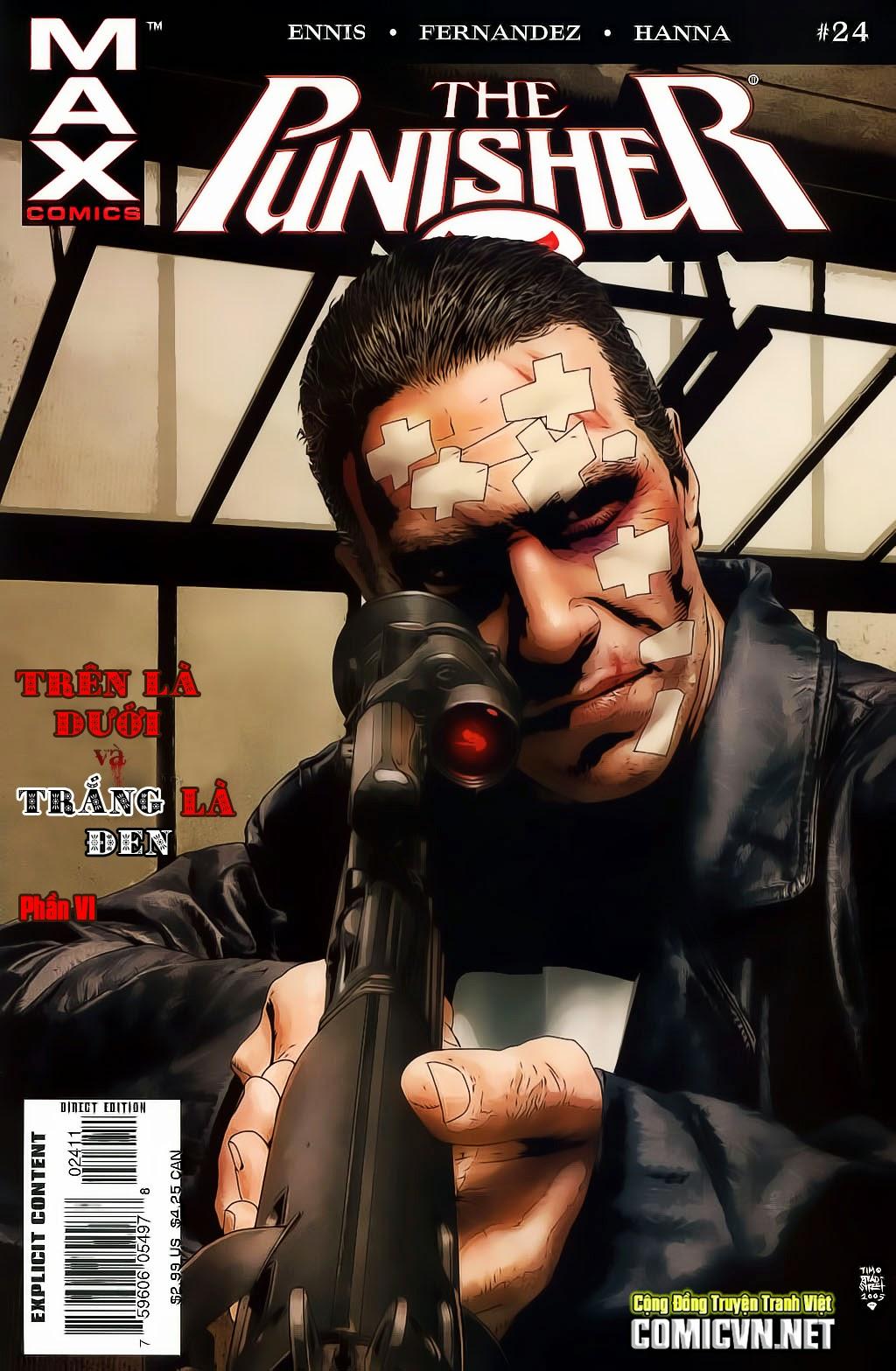 The Punisher: Trên là Dưới & Trắng là Đen chap 6 - Trang 1