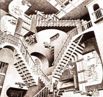 Illusioni ottiche space total for Quadri illusioni ottiche