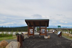Tanana River information center