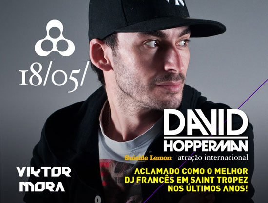David Hopperman na Anzu Club em Itu