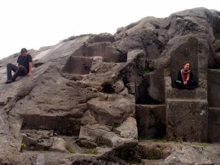 Obiective turistice Peru: cetatea incasa de la Saqsaywoman