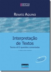 1 - Interpretação de Texto - Teoria e 815 questões comentadas - Renato Aquino