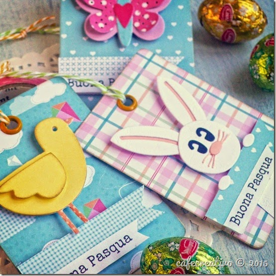 cafecreativo - Craft Asylum - Easter  - Pasqua - fustelle - scrapbooking
