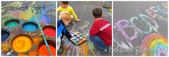 sidewalk paint for kids 10 Things I've Learned About Family Child Care