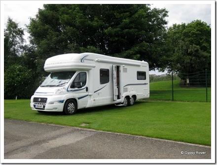 Gypsy Rover at Lochside park, Forfar.