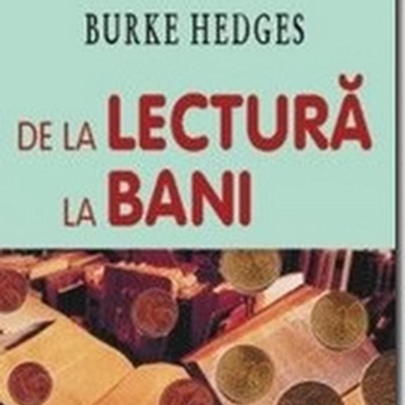 De la lectura la bani de Burke Hedges - citește online gratis (full pdf)