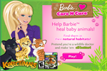 Barbie and Animals