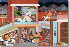 attack-on-shaistakhan-shivaji