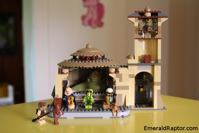 Jabba's palace in lego