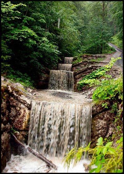شلال partnach gorge