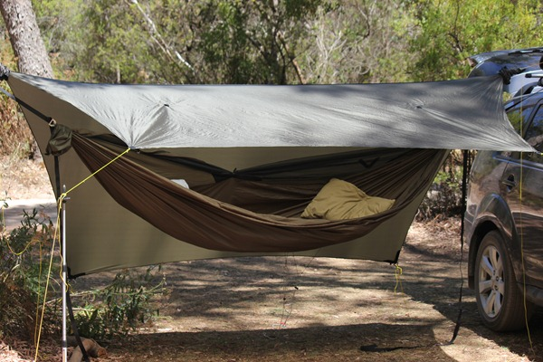 hammock camping ohgizmo your supported a car by