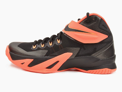nike zoom soldier 8 gr black orange 2 07 Upcoming Nike Zoom LeBron Soldier 8   Bright Mango