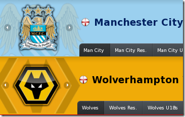Football Manager 2012 logos