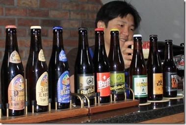 ひとつの工場で様々なビールが造られる