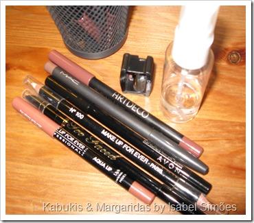 Higienização de Lápis