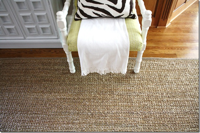 Our Living Room: Choosing an Area Rug