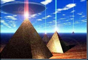 Pirâmides_feixes de raios