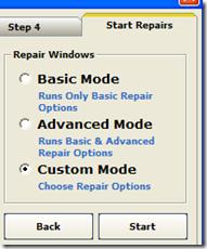 Start Repairs