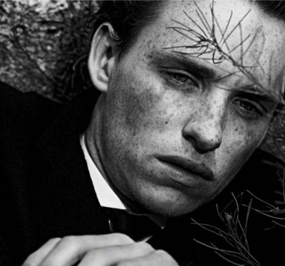 Eddie Redmayne by Peter Lindbergh for Interview, September 2011 | Styled by Karl Templer | www.InterviewMagazine.com