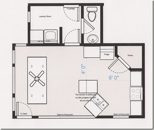 Kitchen Floorplans