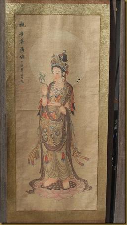 Lukisan Dewi Kwan im1