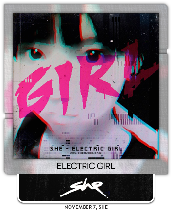 Electric Girl by she