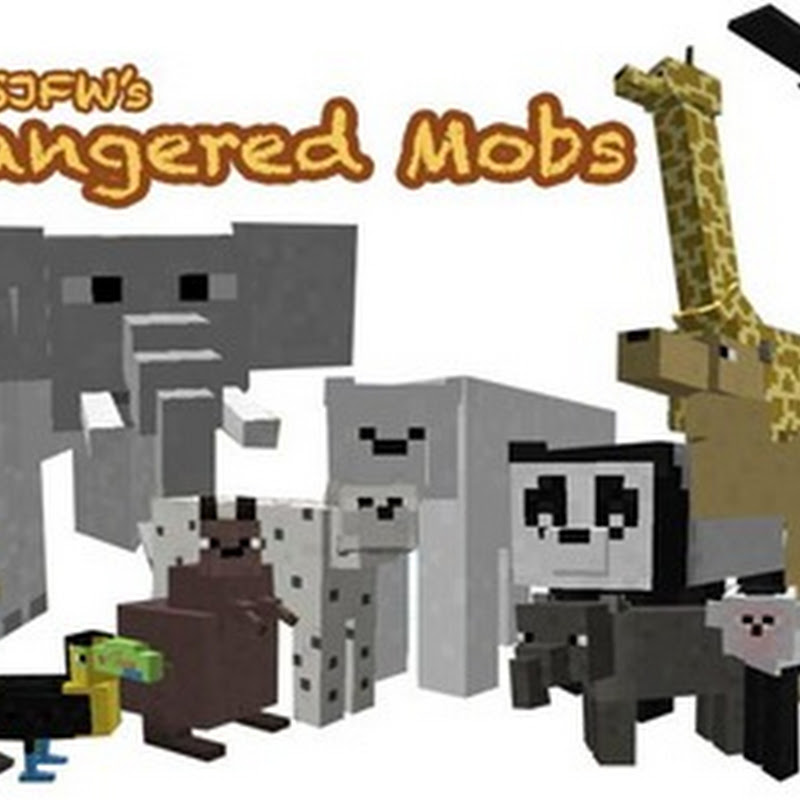 Minecraft 1.2.5 - Endangered Mobs (animali)