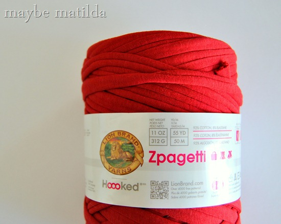 Zpagetti Yarn review by Maybe Matilda