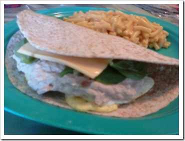 June 11, 2013 - tuna wrap