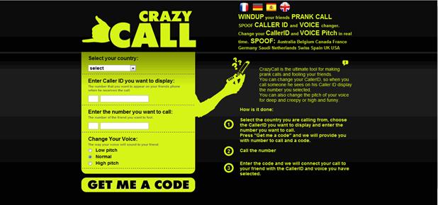Crazy Call