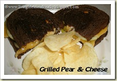 Grilled Pear & Cheese