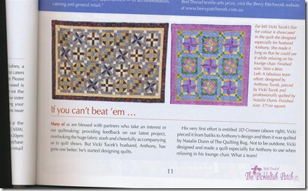 Quilters Companion magazine (Medium)