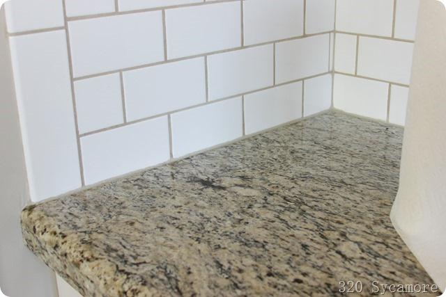caulk in kitchen
