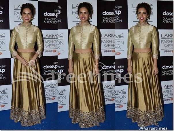 Esha_Gupta_Manish_Malhotra_Gold_Lehenga(1)