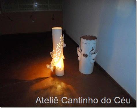 Luminaria PVC Atelie cantinho do ceu 4