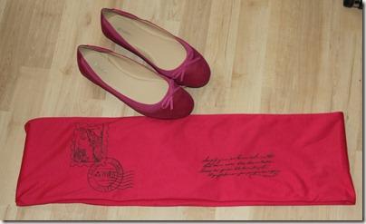Pinke Schuhe mit Loop