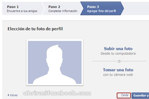 Ponerle foto a tu perfil de Facebook
