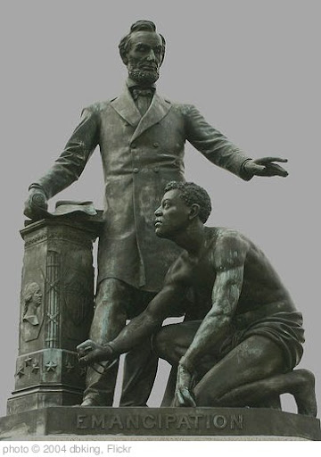 'Emancipation statue at Lincoln Park' photo (c) 2004, dbking - license: http://creativecommons.org/licenses/by/2.0/