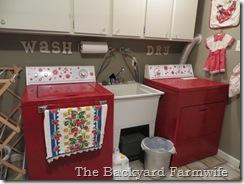 washer dryer makeover the backyard farmwife